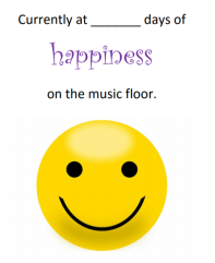 Happiness on the Music Floor
