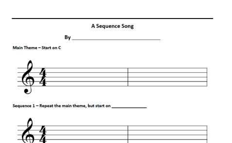 Sequence Song