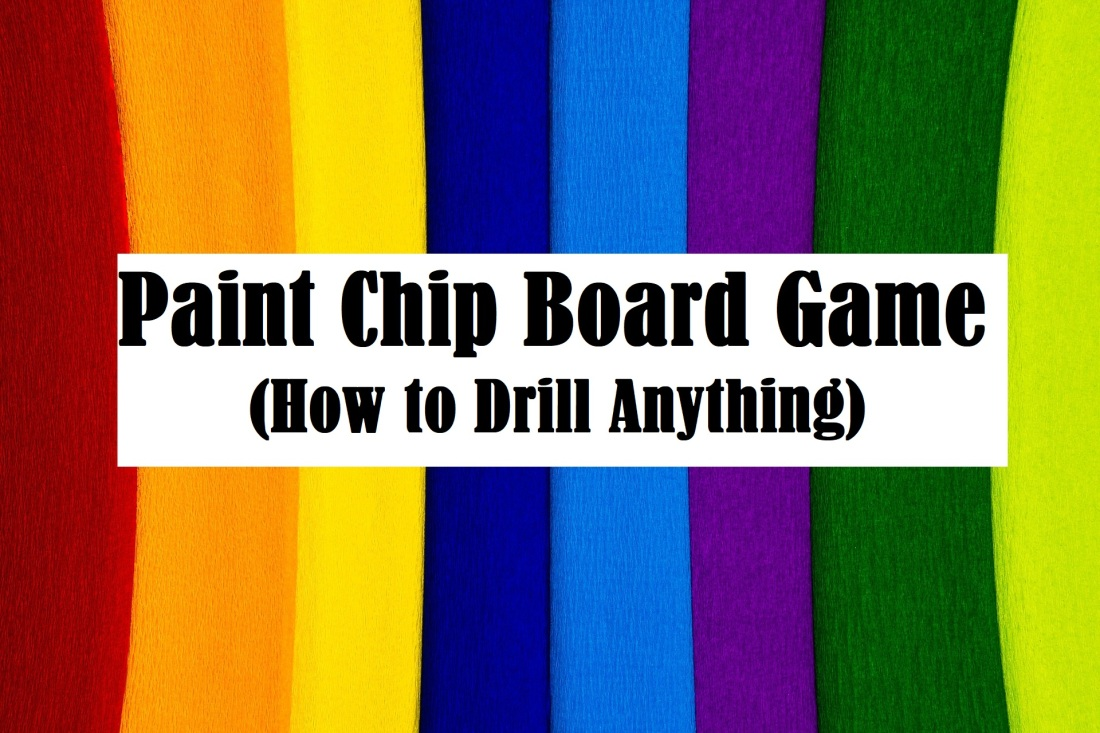 Paint Chip Board Game