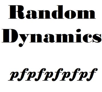 Random Dynamics